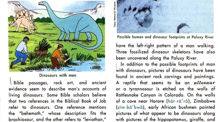 Scans from textbooks from Abeka, BJU Press and Accelerated Christian Education (ACE), used in charter schools nationwide.