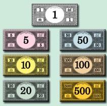 image regarding Printable Monoply Money named Print your private Monopoly fiscal / Boing Boing