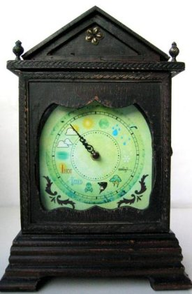 USB-controlled antique weather clock gets data from Yahoo / Boing Boing