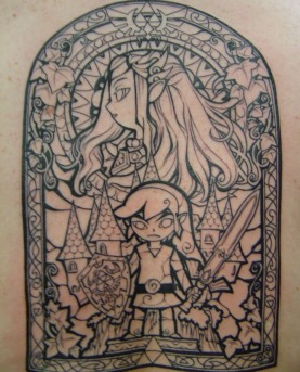 Zelda tattoo of all time / Boing Boing