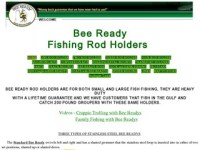 Bee Ready Rod Holders  Crappie Crazy Crappie Fishing