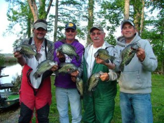 Boyette s resort on reelfoot lake crappie crazy crappie for Reelfoot lake fishing report