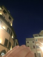 I tried to take a picture of the colour of the sky at the Trevi Fountain at 5am because it was beautiful . Of course It wouldn't come out on camera