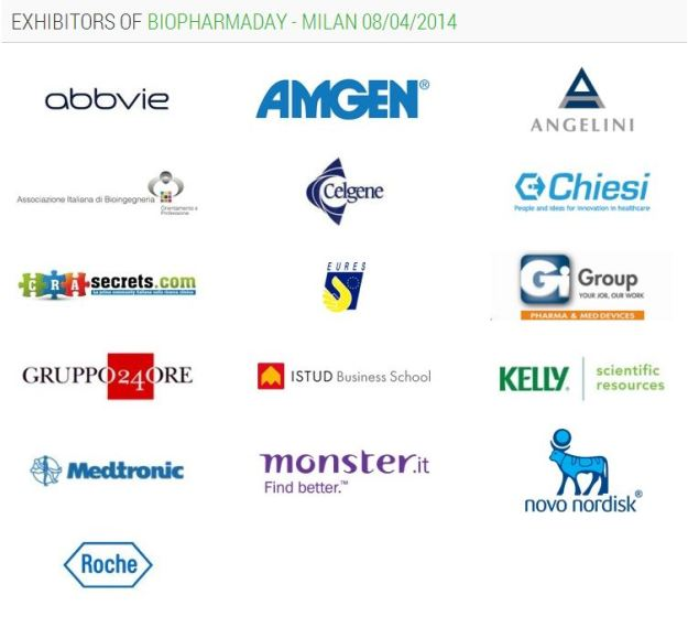 BioPharmaDay 2014 aziende