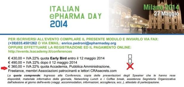 ePharmaDay 2014_casella