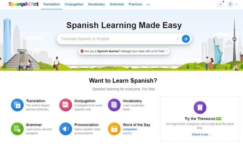 spanishdict review
