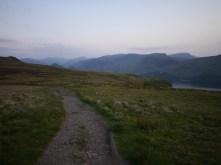 Coming off Walla Crag