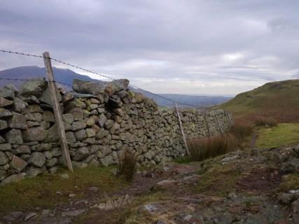 Cumbrian stone walls