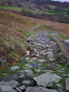 rocky trail towards Ashness bridge
