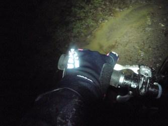 few photos on this dark, rainy ride!