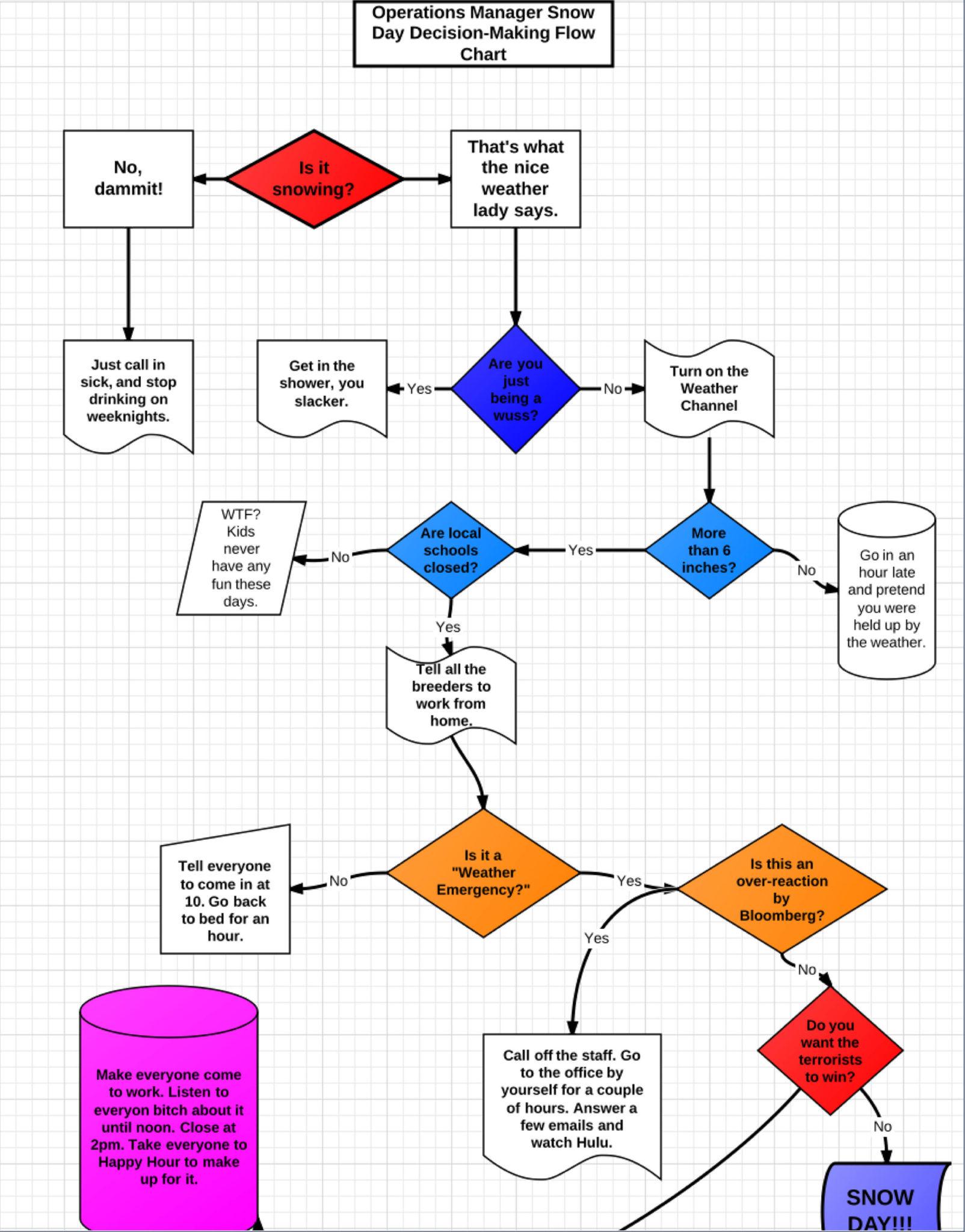 Snow Day Decision Making Chart Crasstalk Rh Crasstalk Com Baby Development  Chart Baby Ultrasound