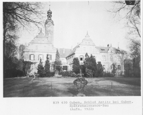 Gębice - Schloss Amtitz - home of Berlin's filmstars during the allied bomb raids in WWII
