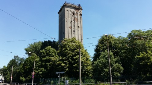 ...whistling a li'l tune while passing the old Nazi Watchtower ...