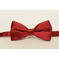 Bow tie for kids Burgundy