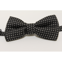 Bow tie (small) Black and white