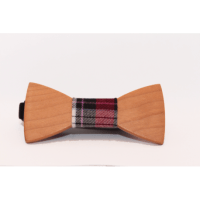 Wood bow tie for kids