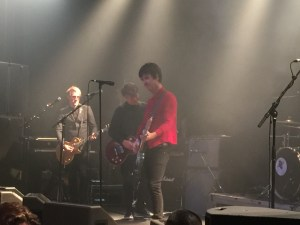 Johnny Marr and Neil Finn at the Powerstation, Auckland (Photo: Steve McCabe)