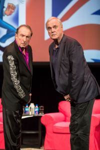 John Cleese and Eric Idle perform at the Van Wezel Performing Art Hall in Sarasota Florida, 10-02-2015-Photo by Rod Millington