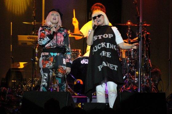 Cyndi Lauper & Debbie Harry