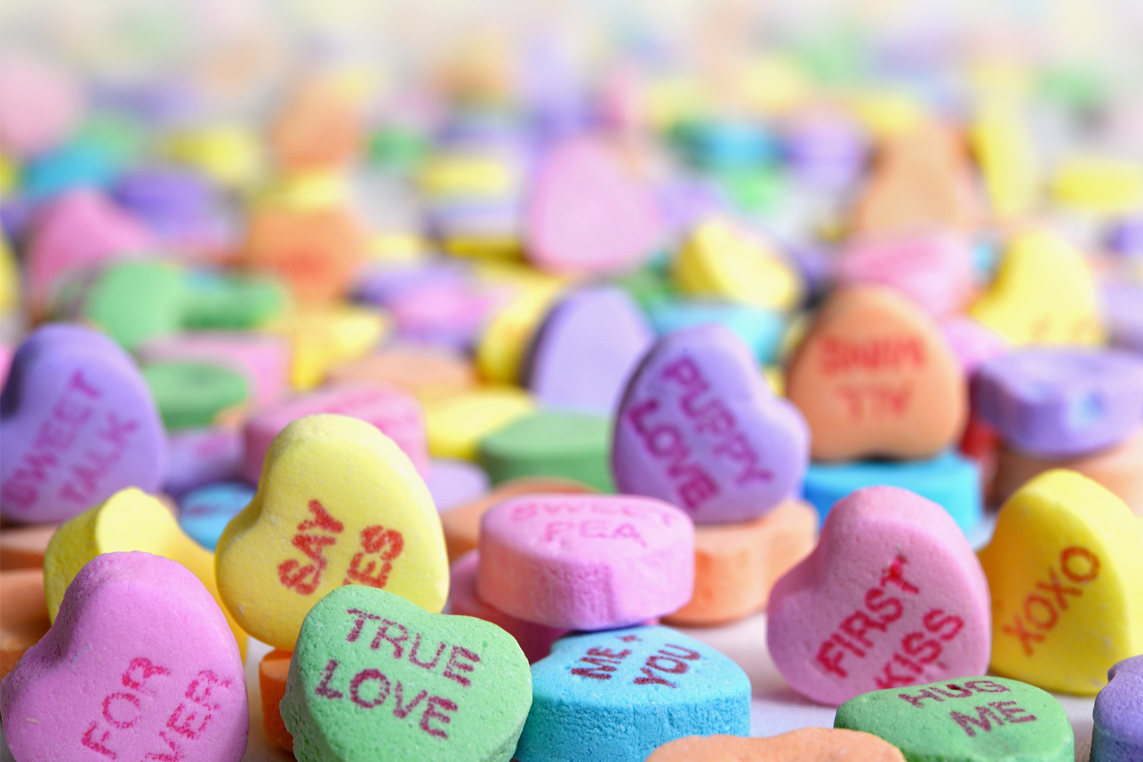 10 Little-known facts about Valentine\'s Day candy hearts ...