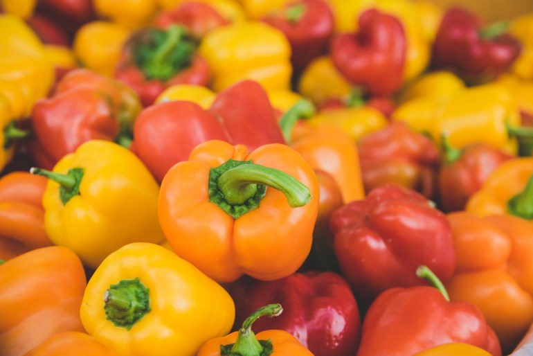 10 Vegetables that are really fruits_bell peppers