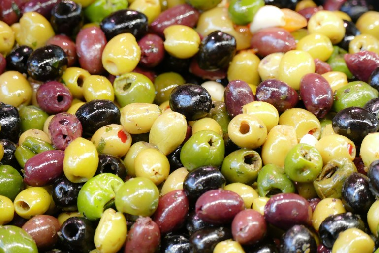 10 Vegetables that are really fruits_olives