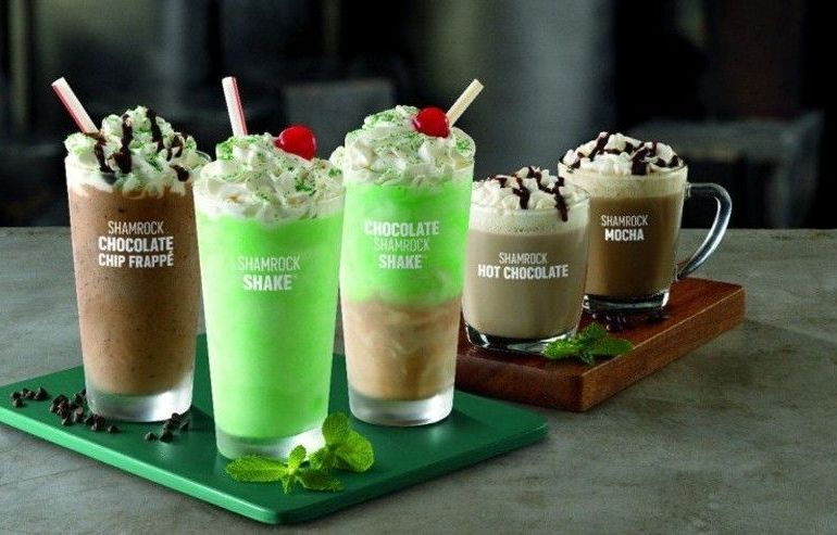 McDonald's expands shamrock shake line for 2017 by Everybody Craves