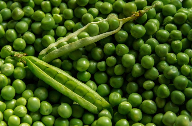 April produce guide What's in season_peas