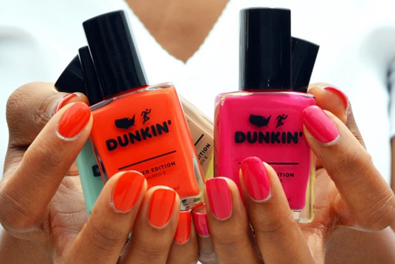 Dunkin' launches coffee-inspired nail polish line