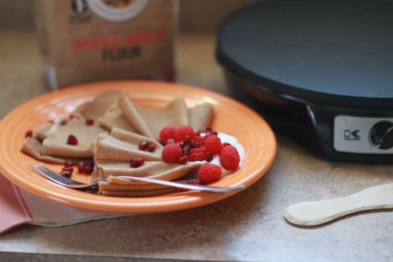 Gingerbread crepes tasty alternative to pancake mornings