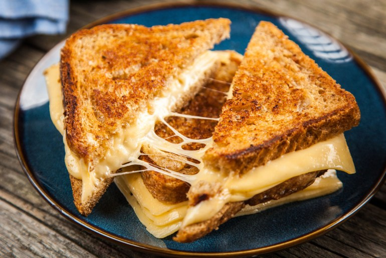Here's how your favorite chefs make grilled cheese