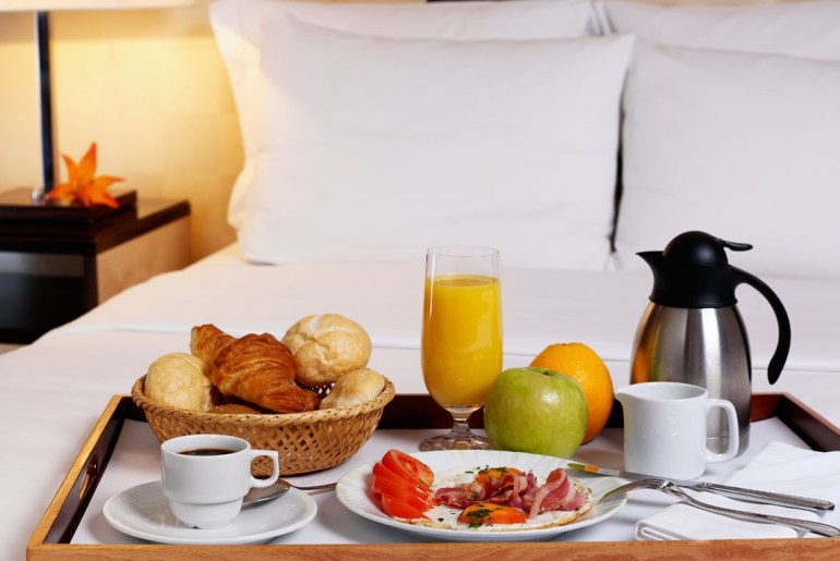 Here's why hotel room service is going away