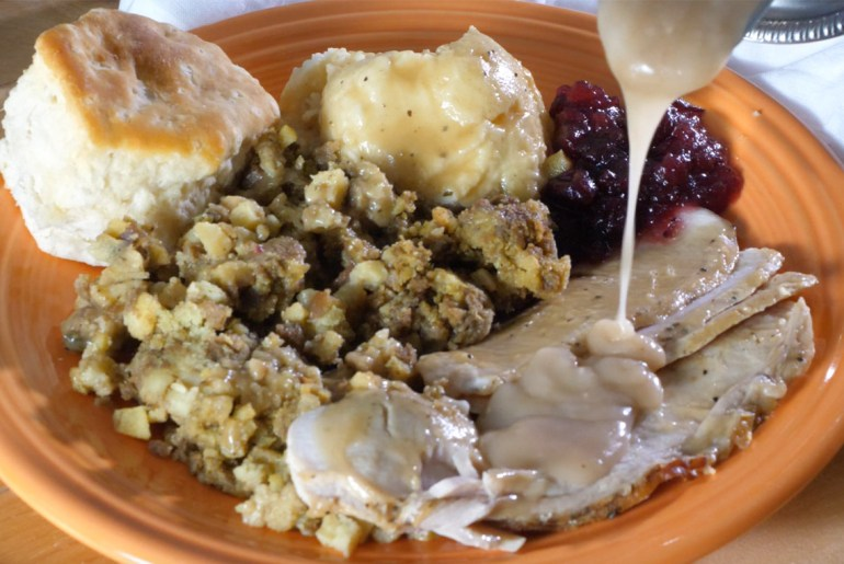 How to make turkey gravy without the drippings