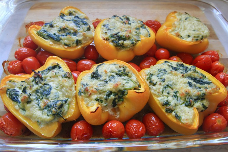 Spinach-ricotta-stuffed-peppers-a-satisfying-vegetarian-alternative-Meghan-Rodgers