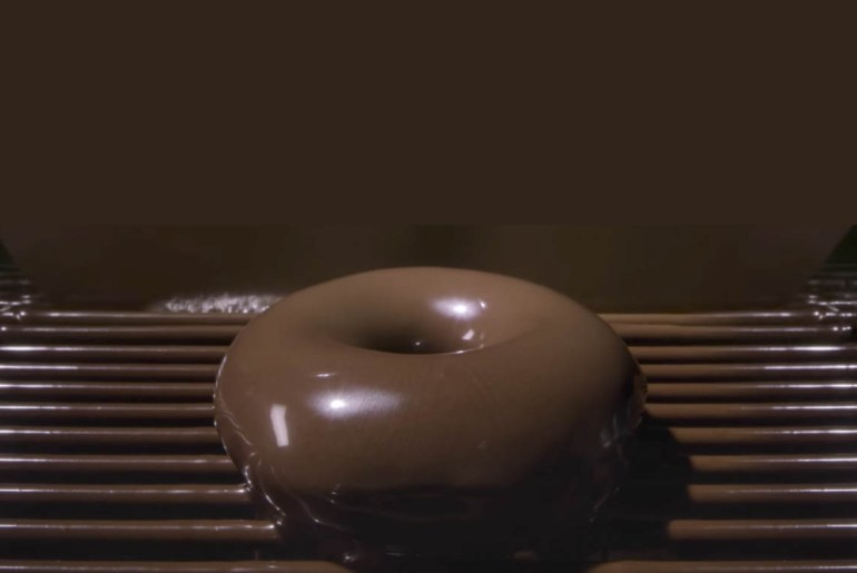 Krispy Kreme is offering a limited-edition chocolate version of its iconic glazed doughnut.