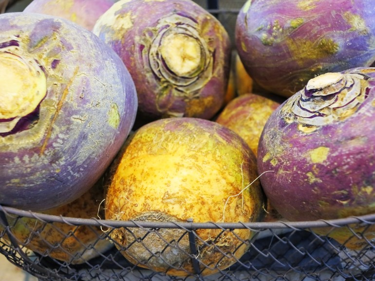 November produce What's in season - rutabaga