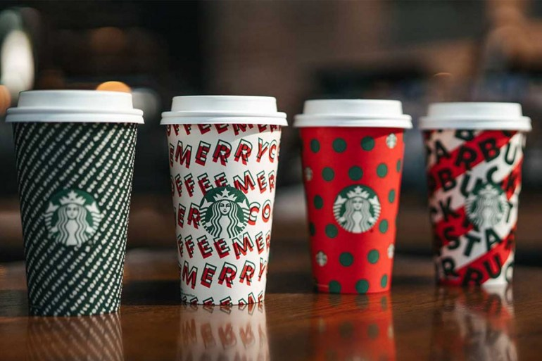 Starbucks releases 2019 holiday cups