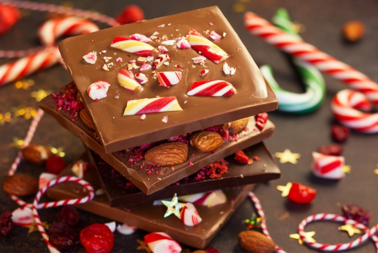 The most popular Christmas candies by state