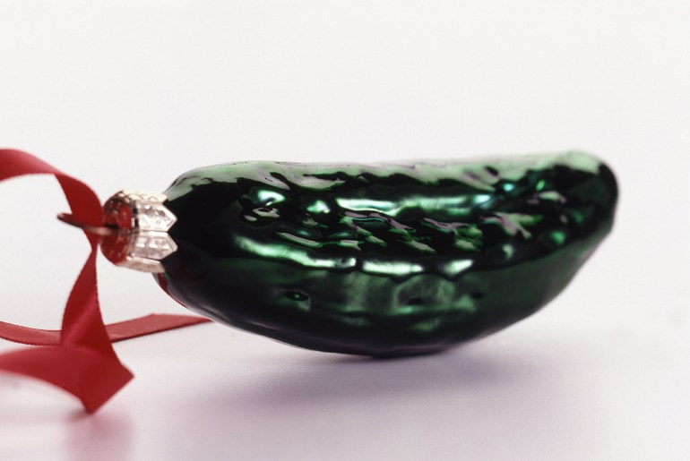 The uncertain origins of the Christmas Pickle ornament
