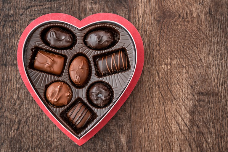 The sweet history of the heart-shaped box of chocolates