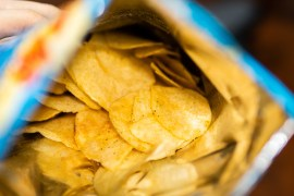 There's a good reason potato chip bags are always packaged half empty