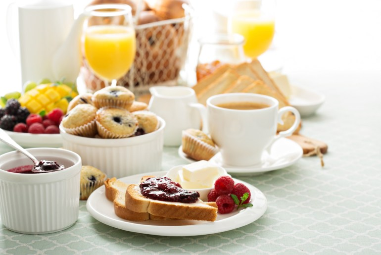 This is how the 'continental breakfast' got its name