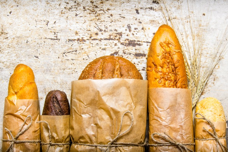 This is why bakery bread comes wrapped in brown paper bags