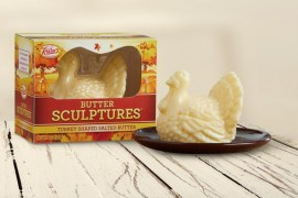 This turkey-shaped butter will be the talk of the table