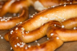 Where you can get freebies on National Pretzel Day, April 26, 2019
