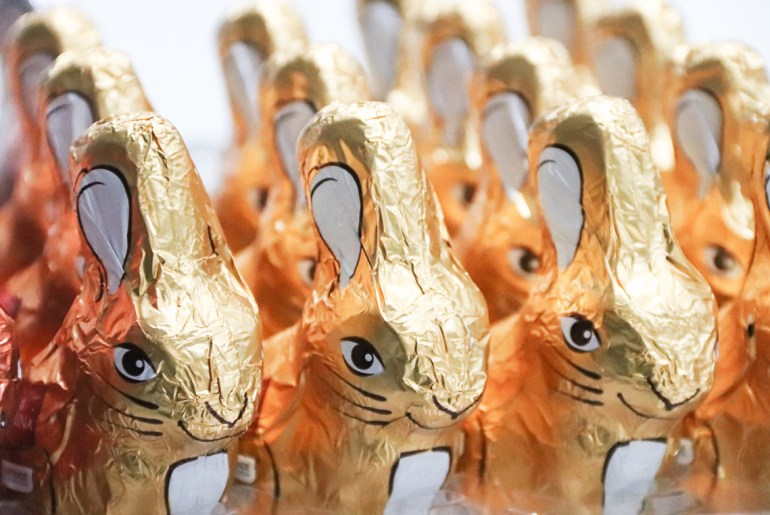 Why do we eat chocolate bunnies on Easter?