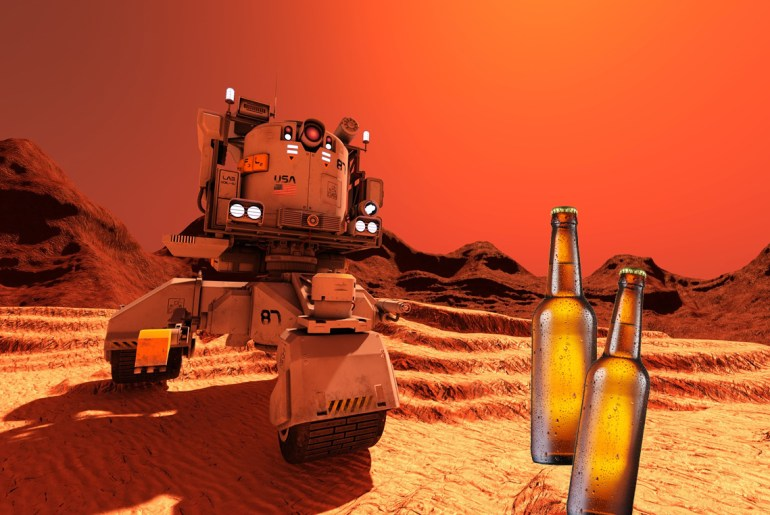 Budweiser talks making martian beer by Everybody Craves
