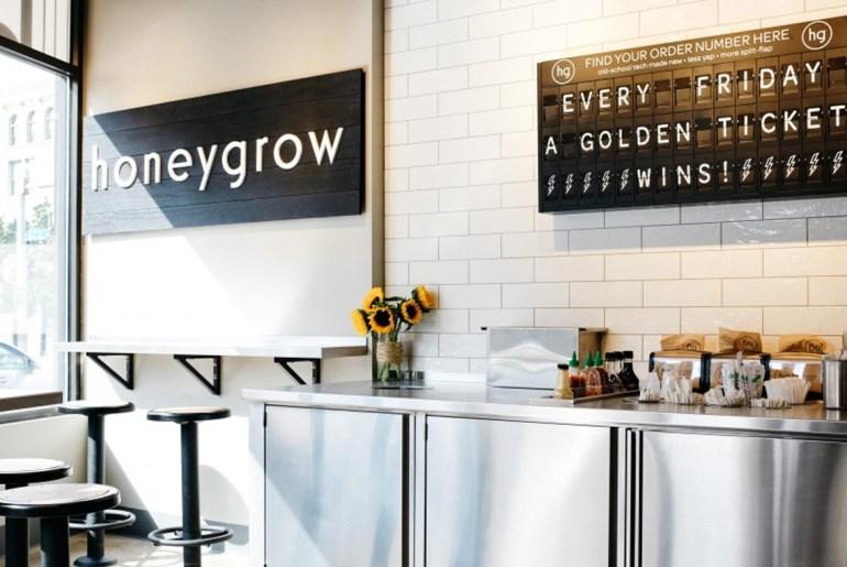 honeygrow opens new restaurant in pittsburgh.