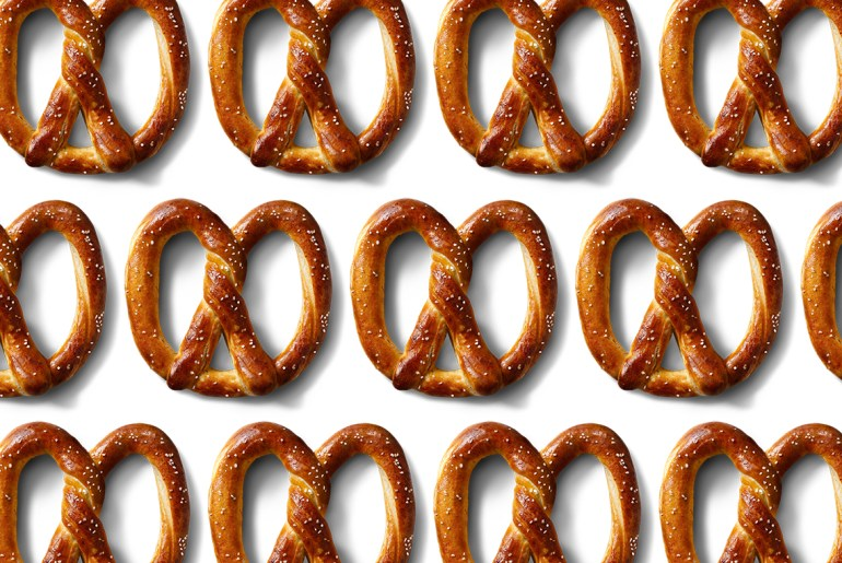 Get a free pretzel on national pretzel day by Everybody Craves