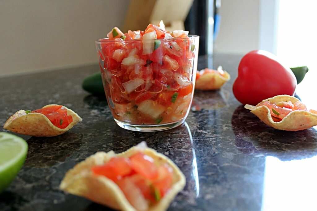 070115 raw tomato jalapeno pico de gallo